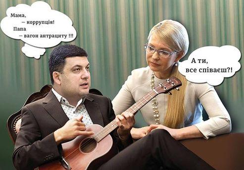 Соцмережі глузують із заяви Гройсмана про Тимошенко
