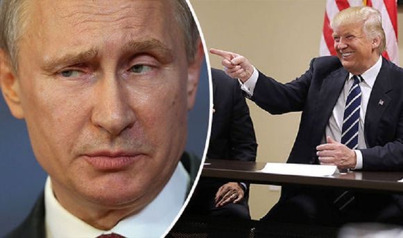 Дональд Трамп та Путін