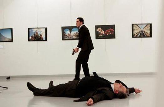 Вбитий посол Росії Андрій Карлов