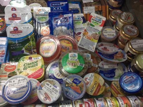 Продукты в Крыму