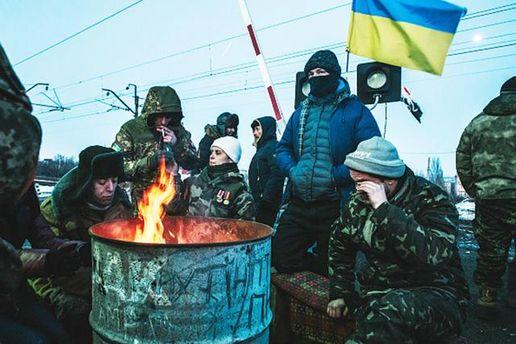Участники блокады Донбасса планируют заблокировать еще 3 ветви железной дороги