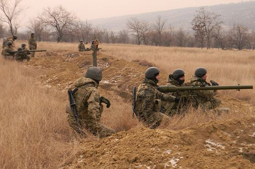 Военные учения в Одесской области