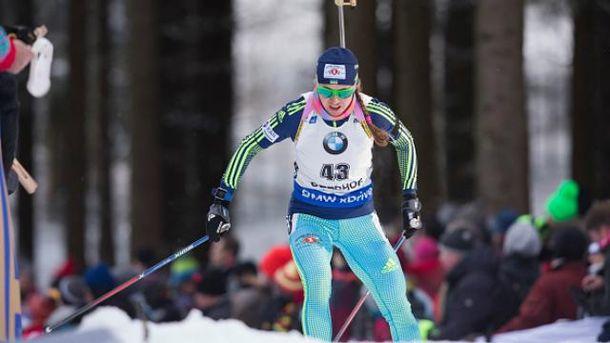Юлия Джима финишировала 9-й