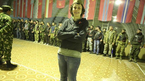 Чичерина в пилотке и террористы Донбасса