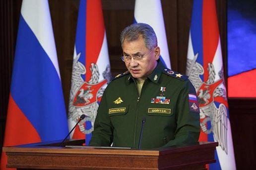 Сергій Шойгу хоче роз'яснень позиції Пентагону щодо Росії