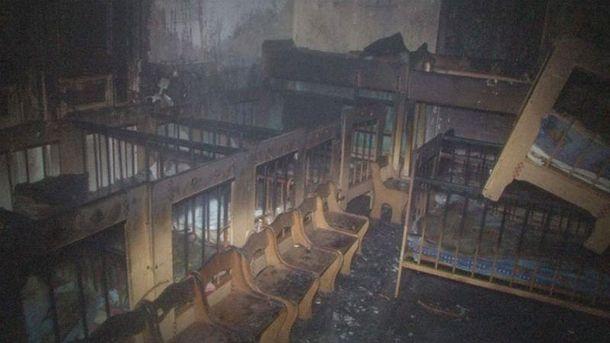 Пожежу у Львові гасили півгодини