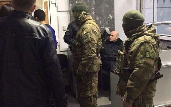 Обыск у депутата Сергея Рыбалка
