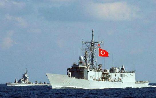 Турецкий военный корабль