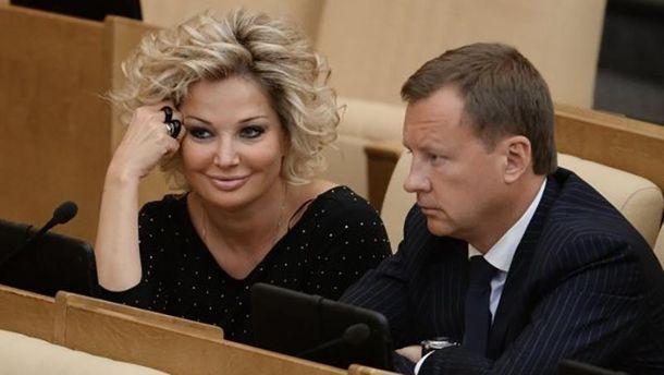 Марія Максакова та Денис Вороненков  у Дердждумі