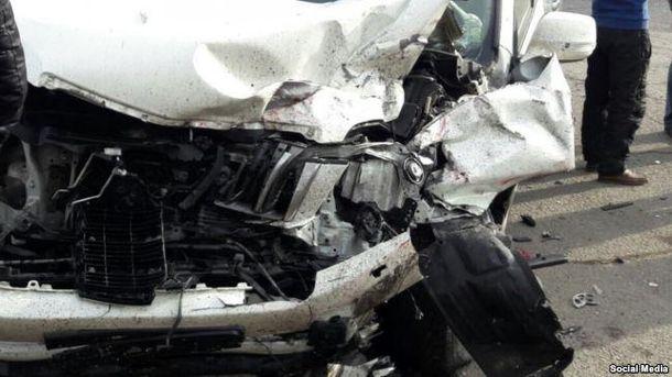 Автомобиль российского посольства
