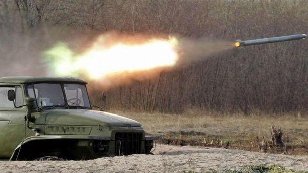 Боевики обстреляли из«Градов» село Водяное