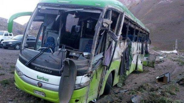 Аварія автобуса в Аргентині