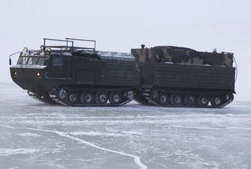 Россия испытывает свою военную технику в Арктике