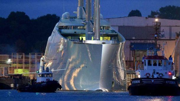 Арестованная яхта
