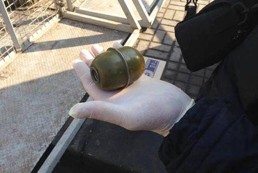 Мужчину с гранатой задержали в центре Киева