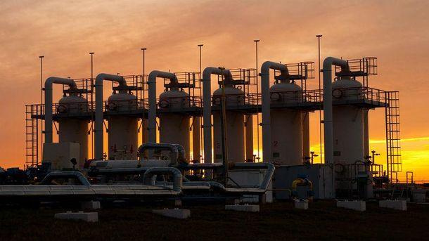 В украинских хранилищах осталось критическое количество природного газа