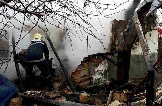 Наслідки вибуху в будинку на Одещині