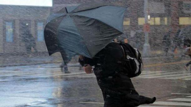 В Україні прогнозують сильні дощі