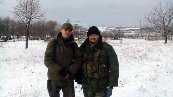 Вадим Магамуров (слева)