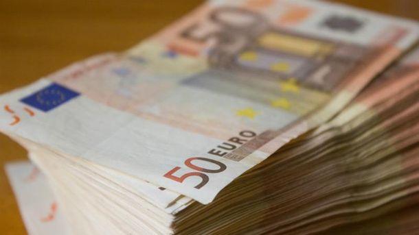 Євро подешевшав на кілька копійок