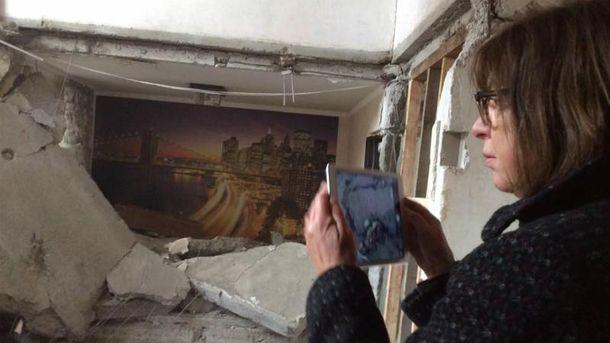 Ребекка Хармс вже не вперше в Україні за останні три роки