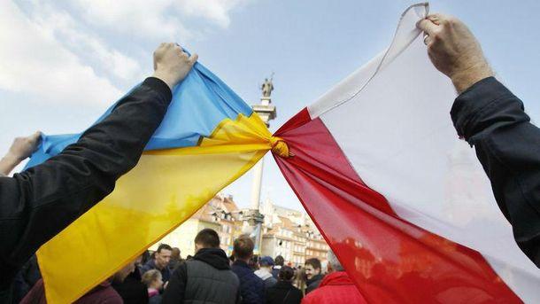 Украинский язык в польской газете
