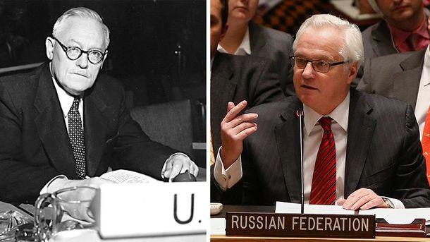 Андрей Вышинский и Виталий Чуркин