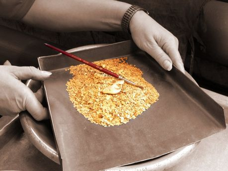 Видобуток золота