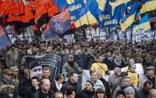 Марш правих сил в Києві