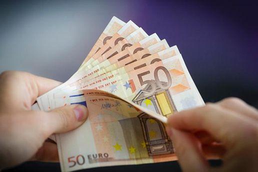 Евро потерял в цене