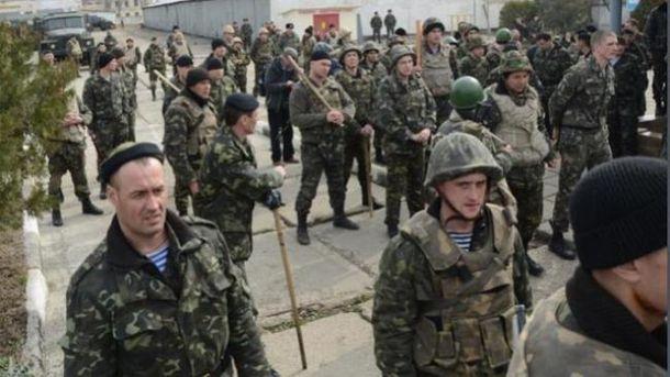 Українські морські піхотинці в Криму