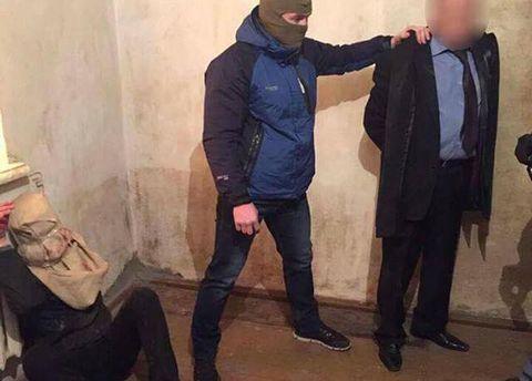 Гончаренко с похитителями