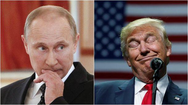 Трамп звинуватив Путіна