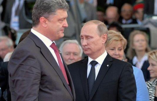 Порошенко заявив про величезне скупчення військ РФ біля кордонів України