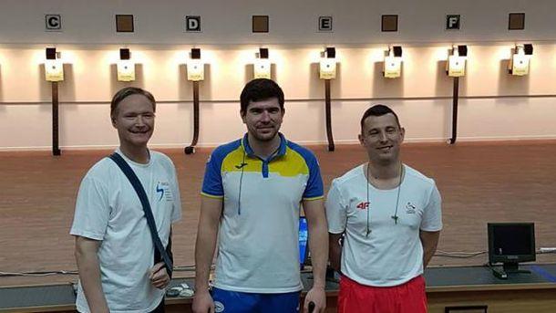 Украинский паралимпиец завоевал сразу два