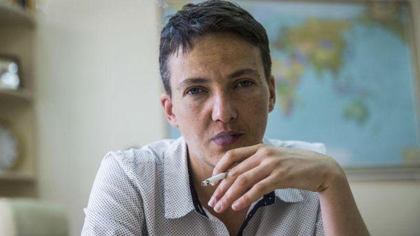 Савченко приехала к террористам