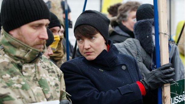 Компрометирующую информацию о Надежде Савченко передали с фронта