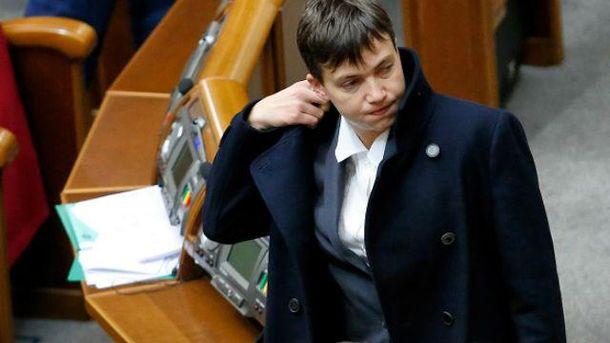 СБУ проведуть розмову з Надією Савченко