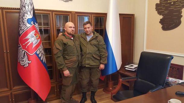 Андрей Пинчук и Александр Захарченко