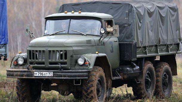 Військовий автомобіль ЗІЛ-131 (Ілюстрація)