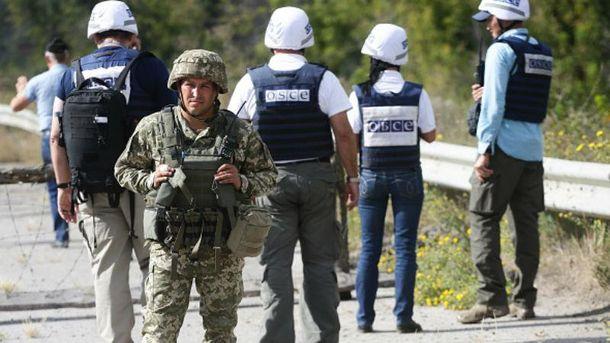 Представники ОБСЄ в зоні АТО