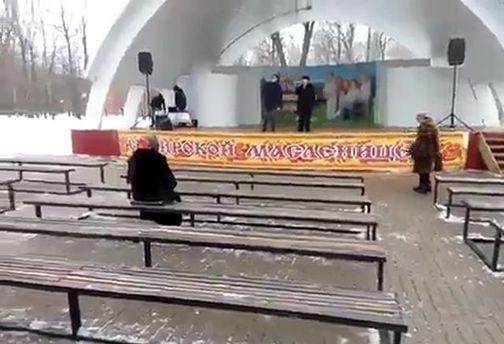 Вот так в России празднуют Масленицу