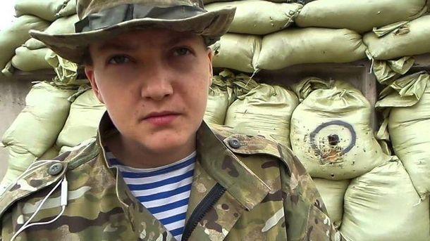 Надія Савченко знову на Донбасі