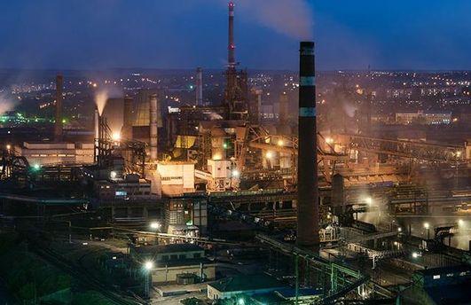 Остановился Донецкий металлургический завод