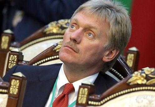 Дмитро Пєсков висловив свій подив щодо блокади Донбасу