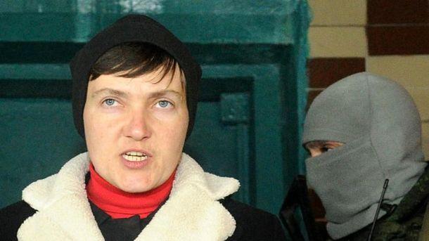 Савченко розповіла про свою поїздку на Донбас