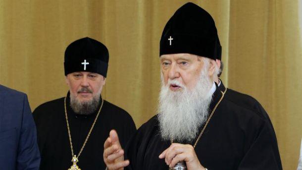 Філарет пояснив зв'язок між війною та церквою