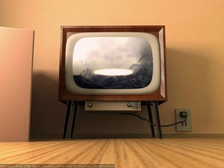 Взорвался старый телевизор