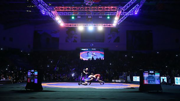 Чемпионат по вольной борьбе