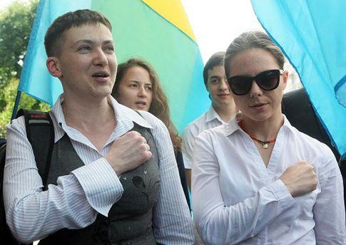 Сестры Савченко выполняют задачи Медведчука